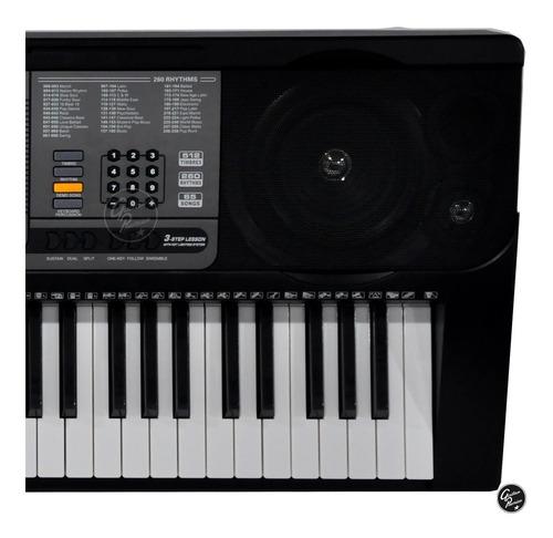 organo teclado sensitivo 5/8 usb luces atril fuente ek61224