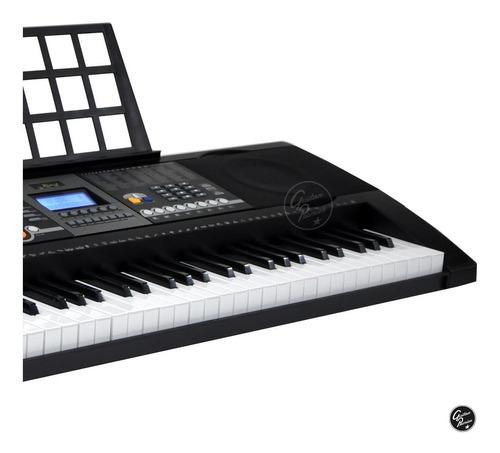 organo teclado sensitivo 5/8 usb + pie atril fuente ek61207