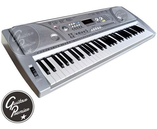 organo teclado sensitivo 61 teclas + funda + fuente + atril