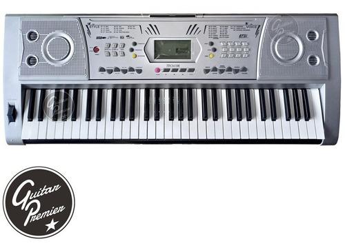 organo teclado sensitivo 61 teclas usb atril fuente garantia