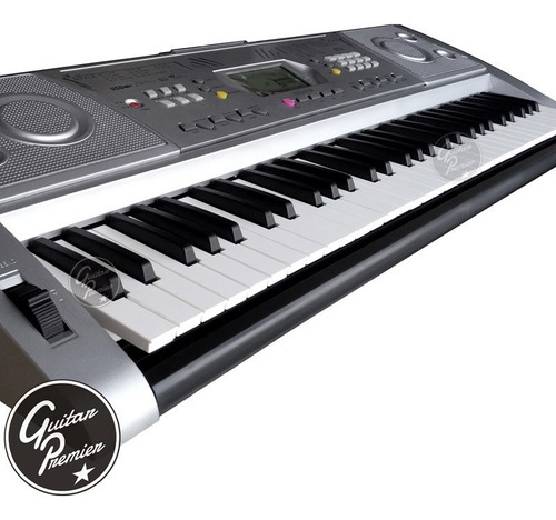 organo teclado sensitivo 61 teclas usb soporte fuente funda