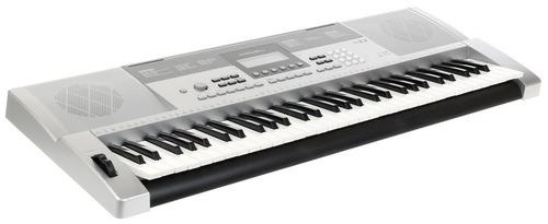 organo teclado sensitivo medeli m12 profesional usb atril