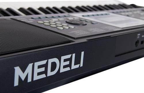 organo teclado sensitivo medeli m15 5 octavas