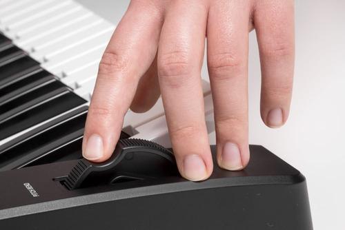 organo teclado sensitivo medeli m17 61 teclas usb atril