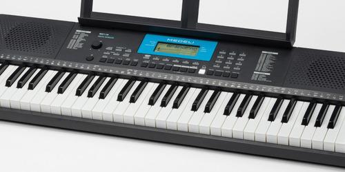 organo teclado sensitivo medeli m211k pie banqueta funda