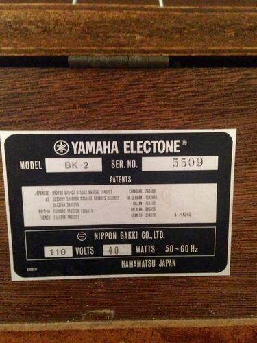 organo yamaha electone bk-2 en puerto ordaz