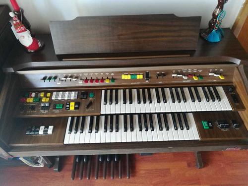 organo yamaha electone bn35 doble teclado como nuevo
