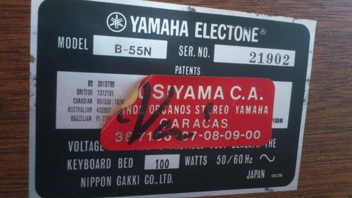 organo yamaha electone modelo b-55n