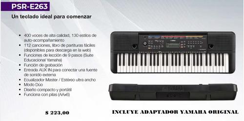 organo yamaha psr f51 incluye adaptador y mas karaoke regalo