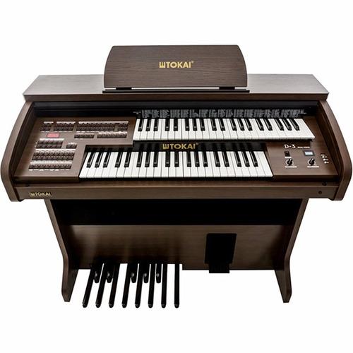 órgão eletrônico digital tokai d3 60 watts rms bivolt mp3