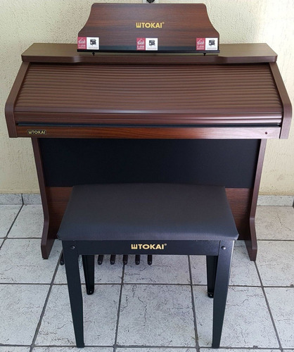 órgão eletrônico tokai md-20 drawbars - loja teclasom