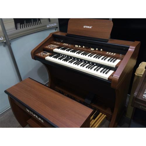 órgão eletrônico tokai - t1 concert marrom vengue
