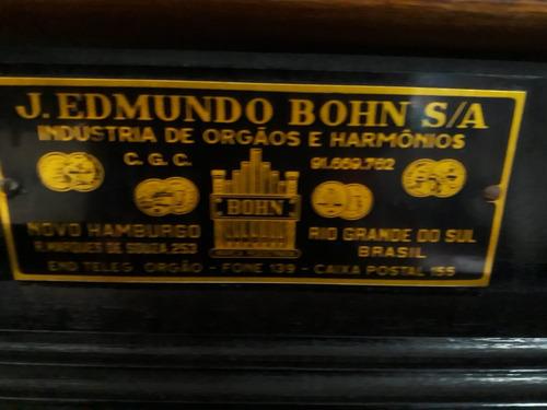 orgão harmônio j. edmundo bohn - (ótima conservação)