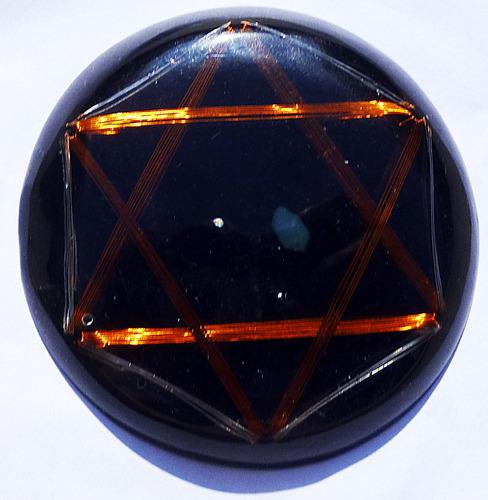 orgón sol negro sanador del cuarto chakra dpm metayantra