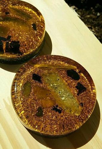 orgonite cogumelo modelo 2