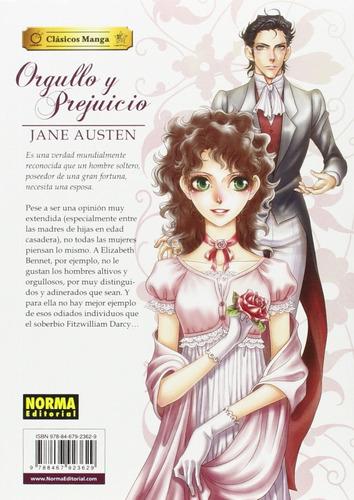 orgullo y prejuicio, jane  austen clásicos manga