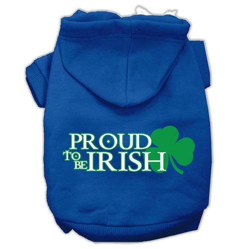 orgulloso a ser sudadera con impresión pantalla irlandés s