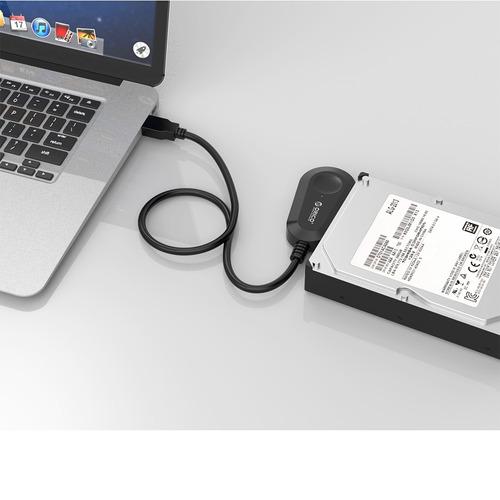 orico 25uts usb 3.0 sata adaptador disco duro cable 2,5 hdd