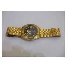 Precios de reloj orient para dama dorado