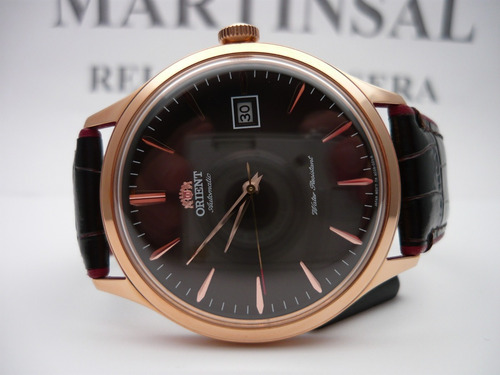 orient bambino bronce automatico fac08001t fotos reales