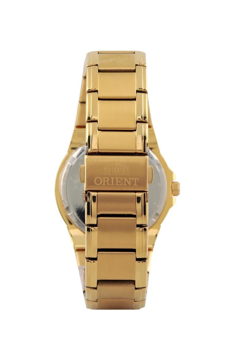 3c0079ef6c7 Relógio Orient Feminino Dourado Fgss0048 C2kx Original C  Nf - R ...
