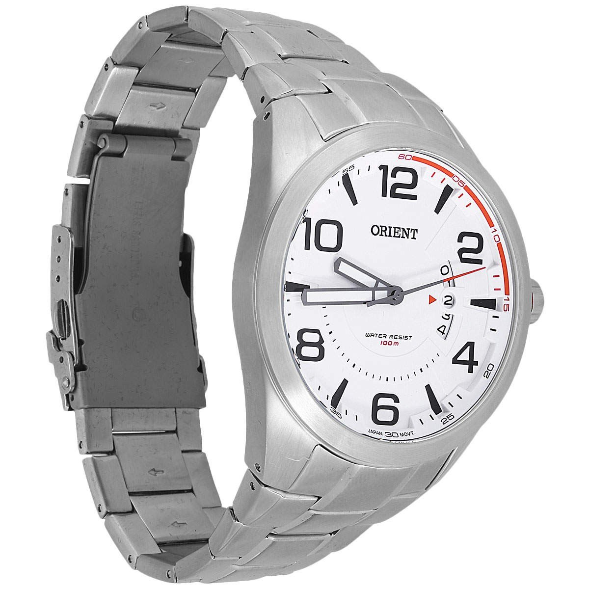 cbadf91b12b Carregando zoom... relógio orient mbss1232 masculino sport mostrador branco