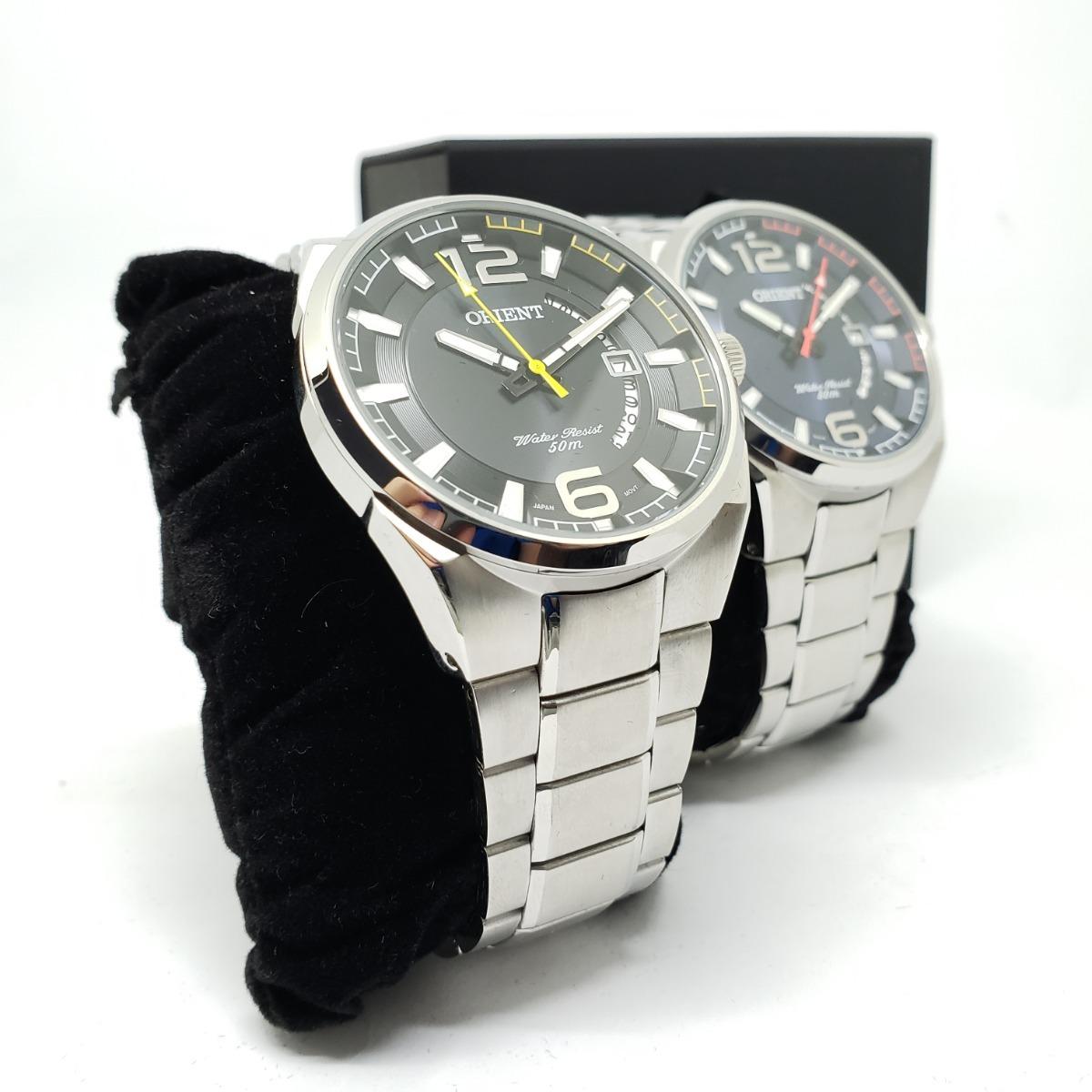 85661492cec Relógio Orient Masculino Mbss1336 Aço Prata Com Nota Fiscal - R  298 ...