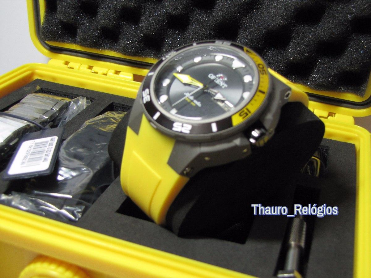 fe3e9d4d82c orient seatech 469ti003 titanium kit de mergulho automático. Carregando  zoom.