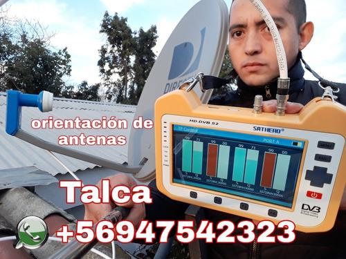 orientación de antenas satelitales