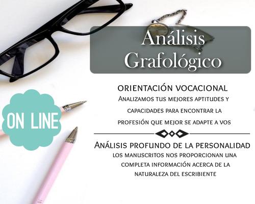 orientación vocacional - análisis grafológico - grafóloga of
