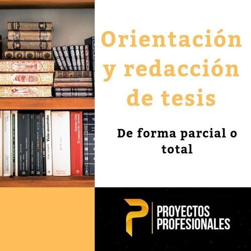 orientación y realización de tesis. graduación, universidad