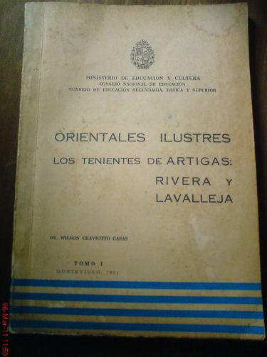 orientales ilustres: los tenientes de artigas
