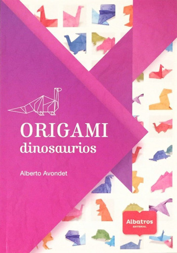 origami dinosaurios - tiranosaurios rex pterodáctilos chicos