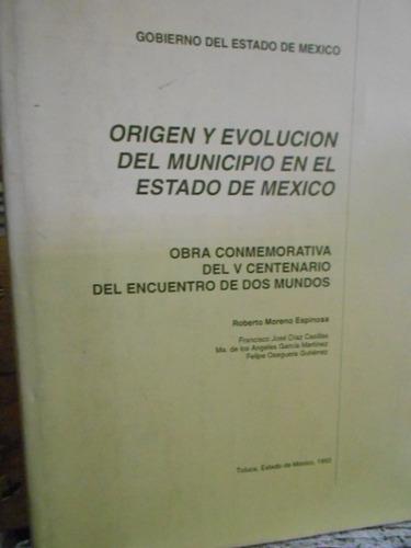 origen y evolución del municipio en el estado de méxico