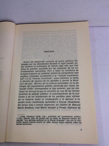 orígenes de los partidos políticos en...manuel maría madiedo