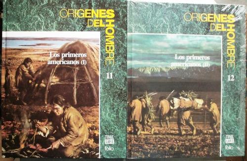 origenes del hombre 11-12: primeros americanos / ed folio