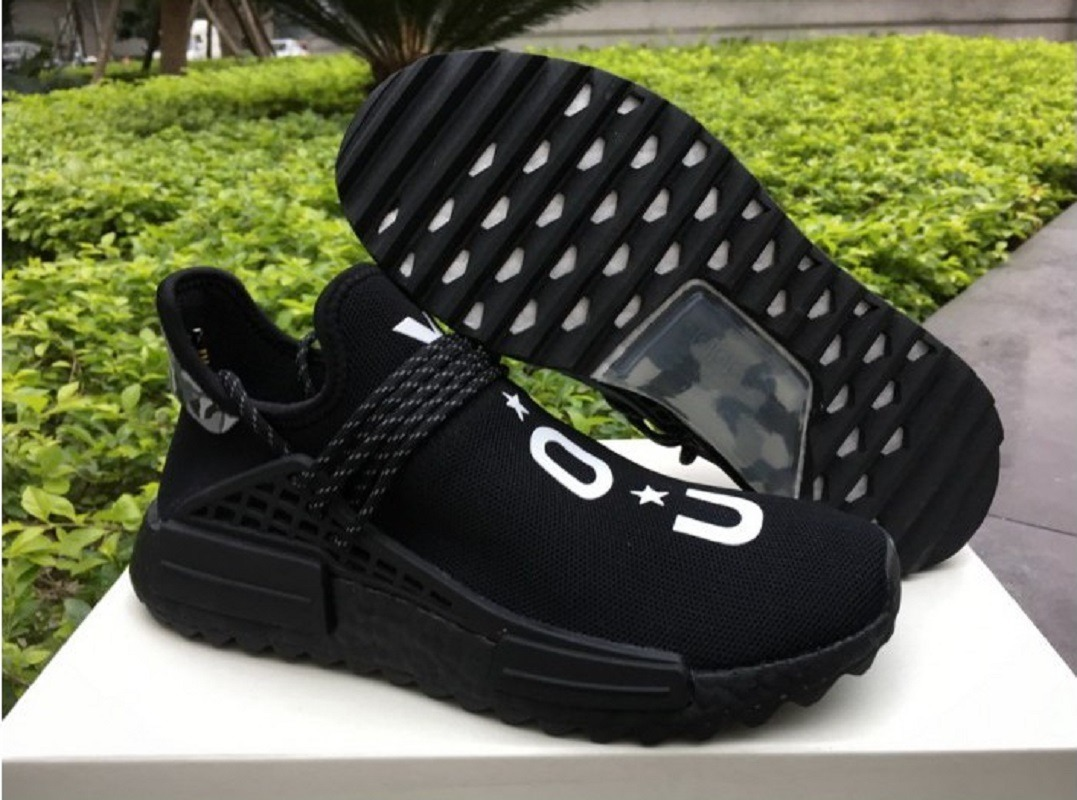 size 40 a458b 5cfb9 Original adidas Nmd Tr Pharrell Williams Human Race Nerd You Black  Originals Tenisshop