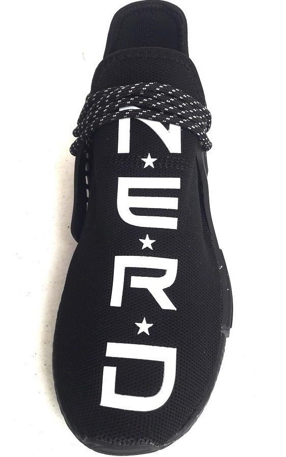 size 40 a7e40 7750c Original adidas Nmd Tr Pharrell Williams Human Race Nerd You Black  Originals Tenisshop