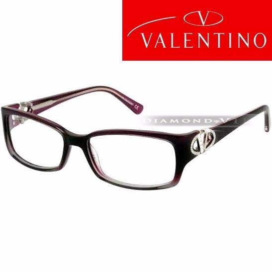 197277af560d9 Original Armação Óculos Grau Feminino Italiano Roxo Cristais - R  1.399