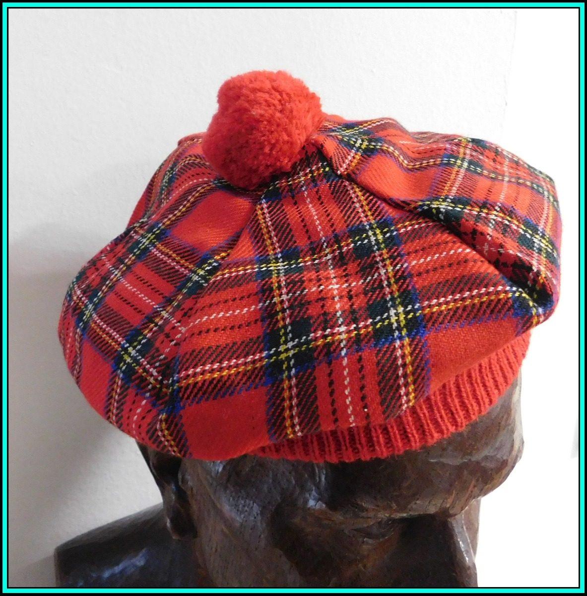 00f345c78f083 original boina escocesa 100% pura lana - made in scotland m1. Cargando zoom.