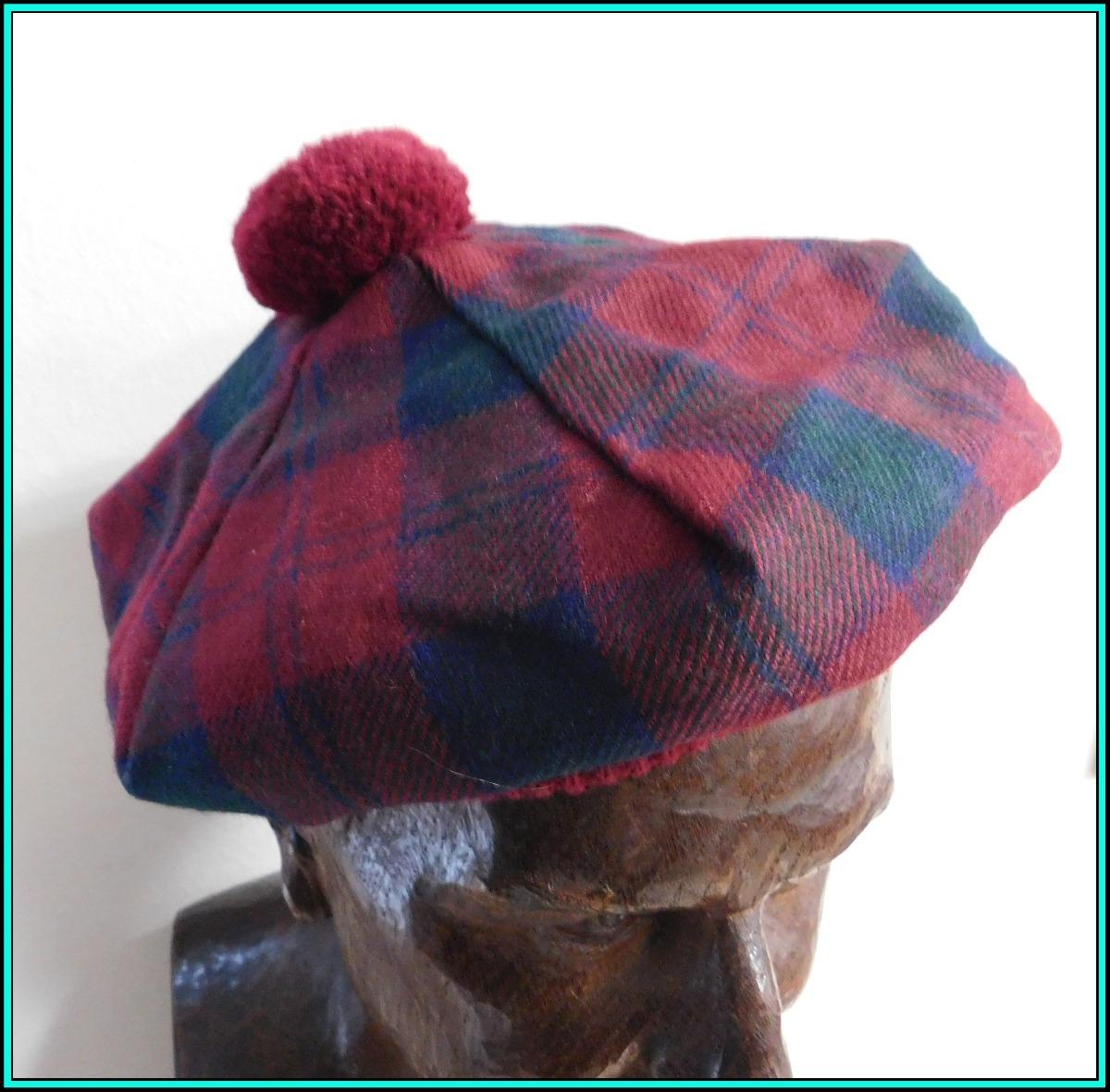 52482ba657007 original boina escocesa 100% pura lana - made in scotland m3. Cargando zoom.