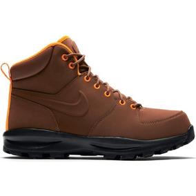 Original Botas Caminata Nike Acg Piel Manoa Cafe Suela Tenis.shop ******