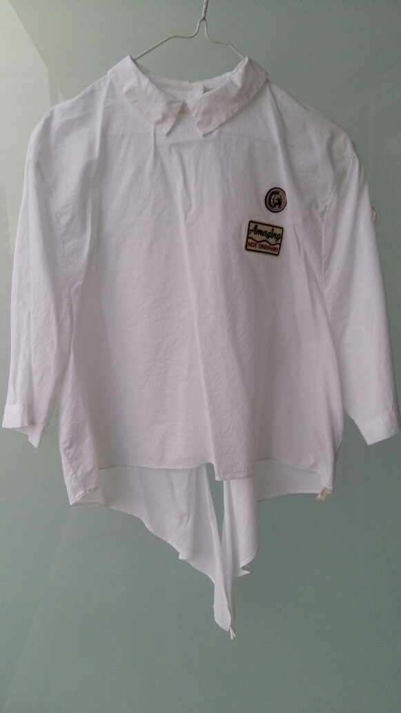 Manga Camisa Blanca M 34 Zoom T Mujer Original Cargando Zara q1nYPRqU 177798ba143b