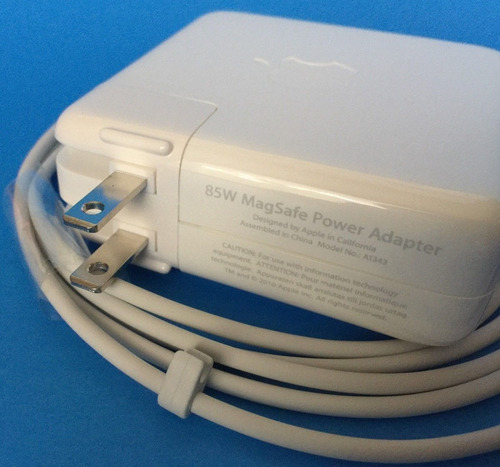 original cargador a1343 magsafe 1 de 85w para macbook pro