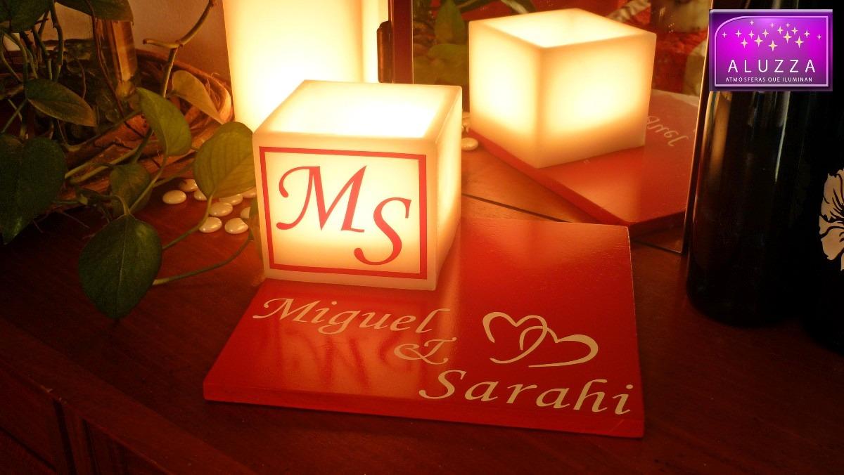 Original centro de mesa para boda aluzza en - Mesa centro original ...
