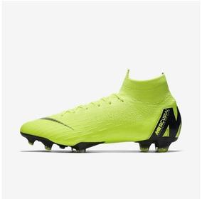 4f350ac661 Chuteira Verde Limao Nike - Esportes e Fitness no Mercado Livre Brasil