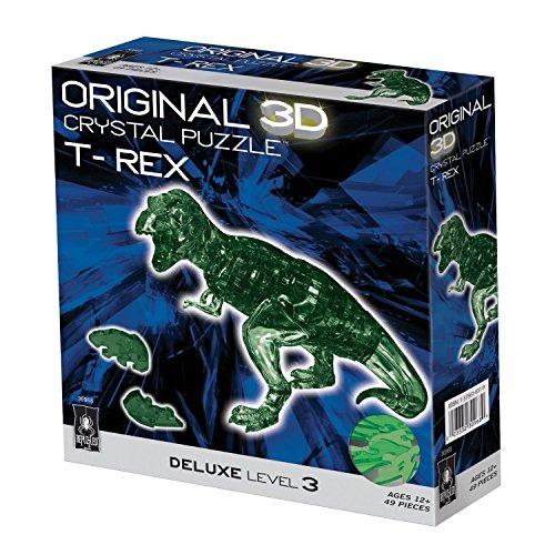 original cristalina del rompecabezas 3d - deluxe t-rex