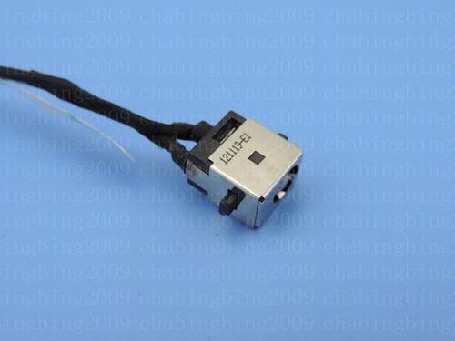 original dc power jack puerto cable arnés p/n 1417-007g000 d