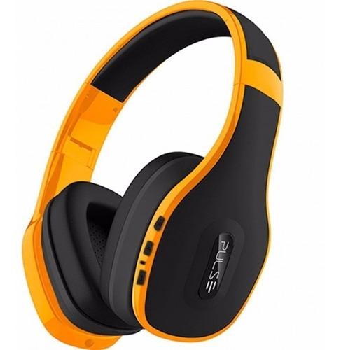 original fone de ouvido pulse bluetooth ph151 amarelo
