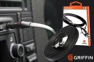 original griffin auxiliar audio y video flat cable 3ft